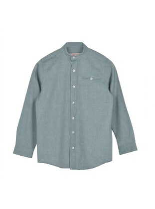 Green - Boys` Shirt