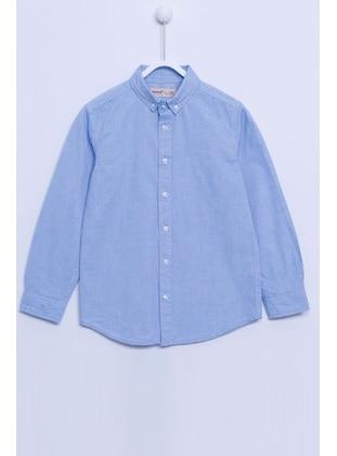 Blue - Boys` Shirt - Silversun