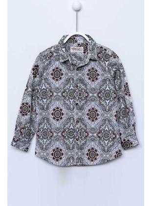 Plum - Boys` Shirt