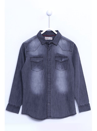 Gray - Boys` Shirt