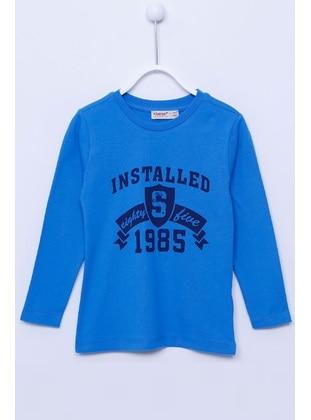 Blue - Boys` T-Shirt - Silversun