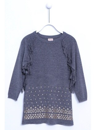Anthracite - Girls` Pullovers - Silversun