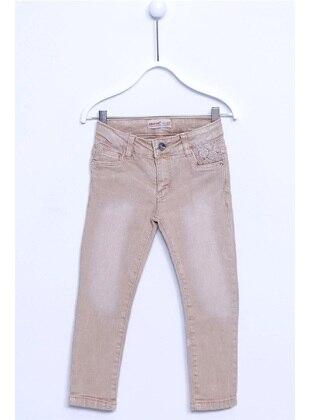 Beige - Girls` Pants