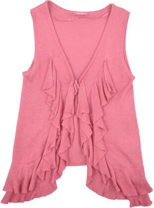 Pink - Girls` Vest - Silversun