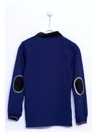 Navy Blue - Boys` T-Shirt
