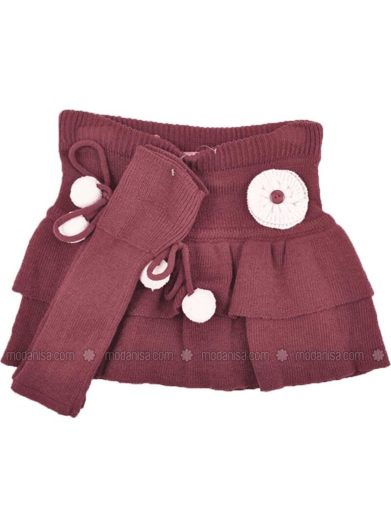 Plum - Girls` Skirt