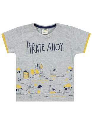 Gray - baby t-shirts - Civil