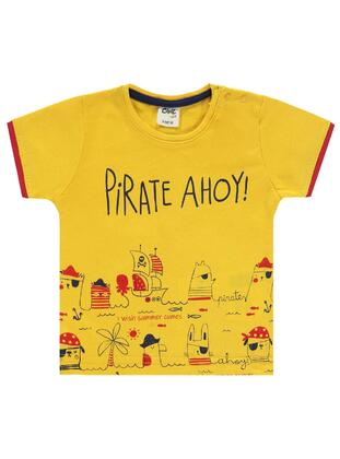 Mustard - baby t-shirts