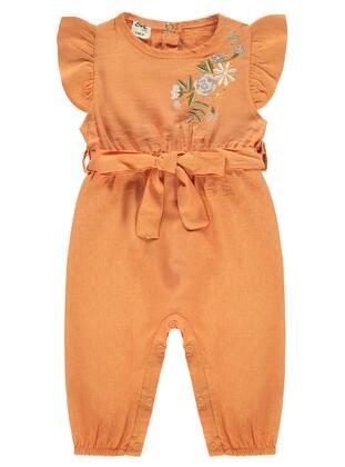 Orange - Baby Sleepsuit - Civil