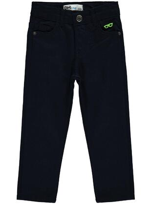 Navy Blue - Boys` Pants - Civil
