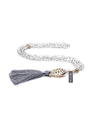 Gray - Prayer Beads