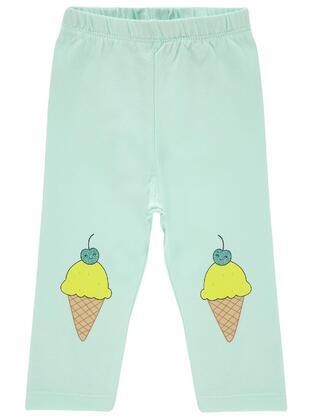Green - baby tights
