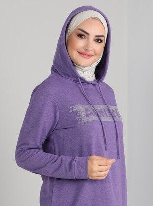 Purple - Cotton - Suit