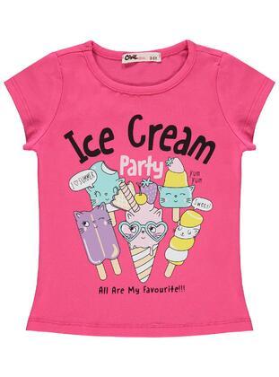 Fuchsia - Girls` T-Shirt - Civil