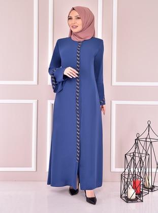Indigo - Abaya - Moda Merve
