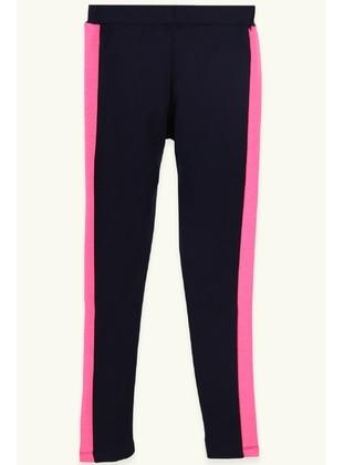 Navy Blue - Girls` Pants