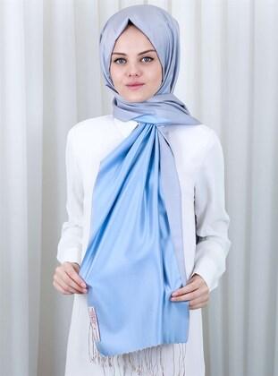 Baby Blue - 100% Silk Shawl - Silk Home