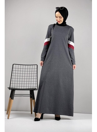 Gray - Modest Dress