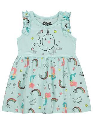 Green - Baby Dress
