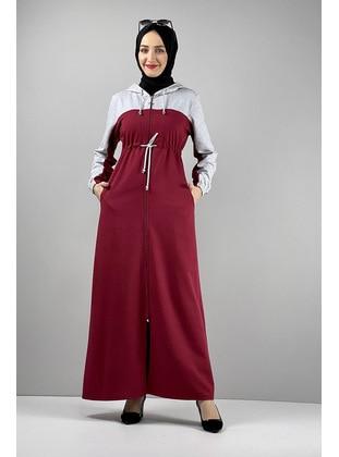 Maroon - Abaya