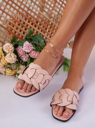 Powder - Pink - Sandal - Slippers