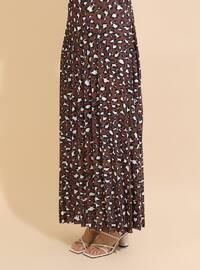 Beige - Brown - Unlined - Suit