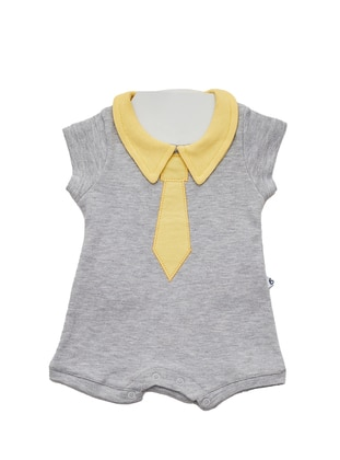 Crew neck - Unlined - Yellow - Baby Body - Ladymina Pijama