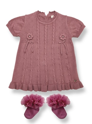 Crew neck - Lilac - Baby Dress