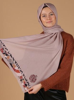 Cotton - Stone - Shawl