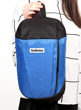 Navy Blue - Black - Backpack - Backpacks