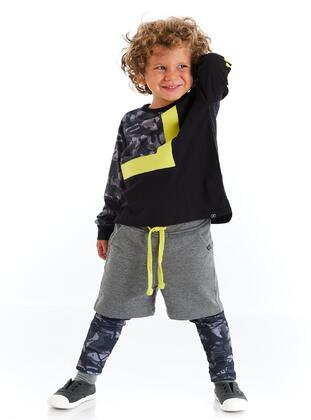 Multi - Fully Lined - Anthracite - Boys` Pants