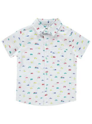 White - Boys` Shirt - Civil
