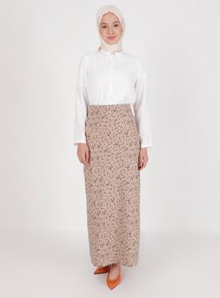 Mink - Multi - Unlined - Skirt