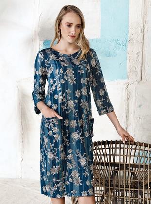 Blue - Loungewear Dresses - Free Angel