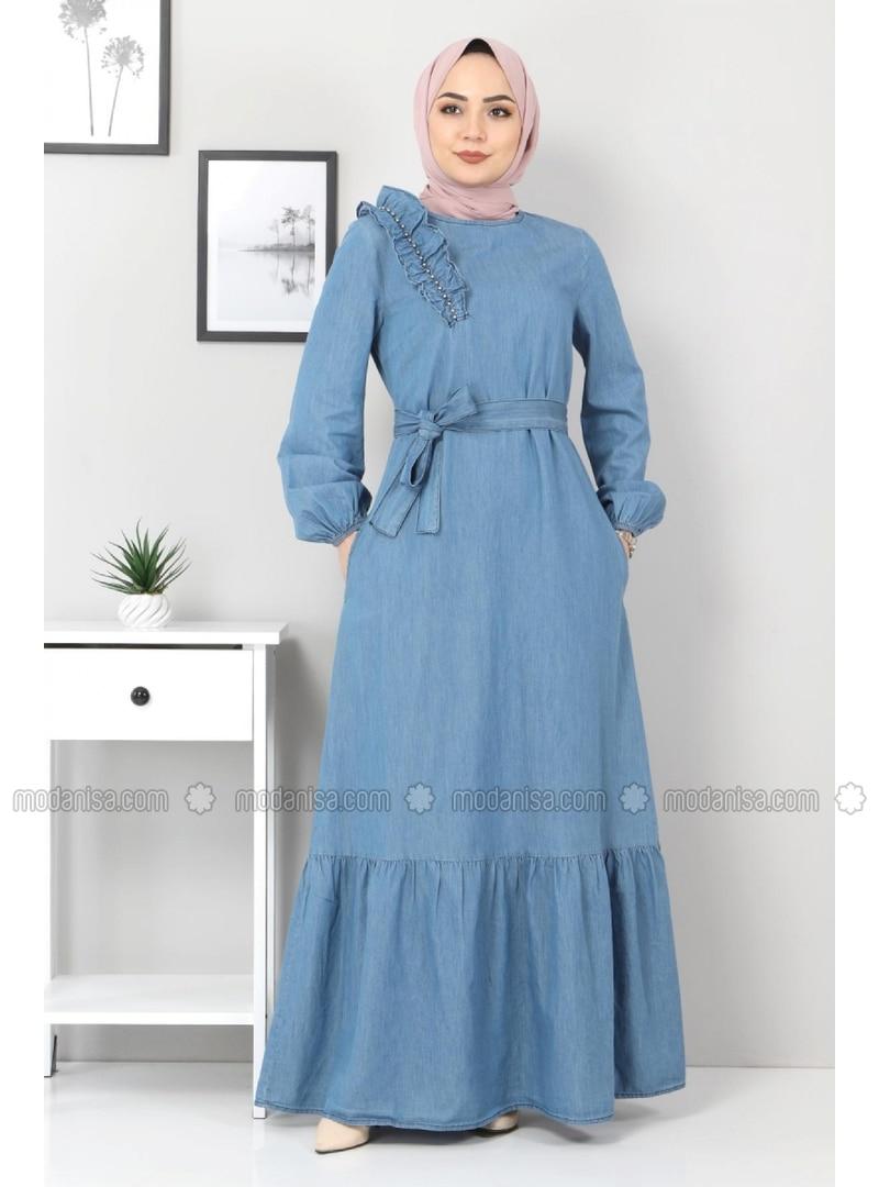 Blue - Modest Dress