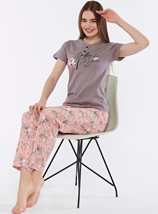 Mink - Pyjama Set - Fawn