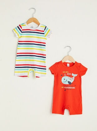 Red - Baby Sleepsuit