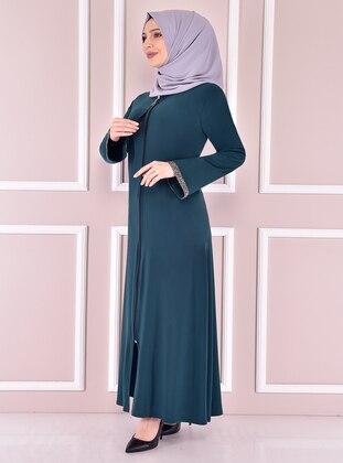 Emerald - Evening Abaya - Moda Merve