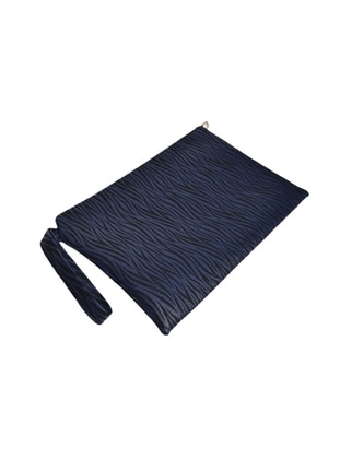 Navy Blue - Clutch - Clutch Bags / Handbags