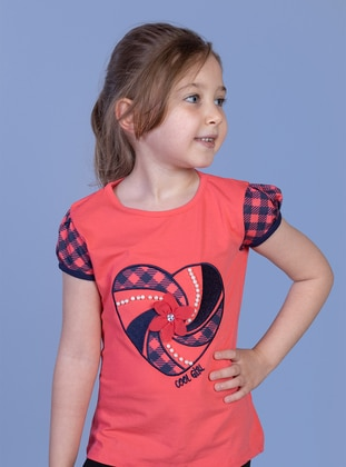 Coral - Girls` T-Shirt - Toontoy