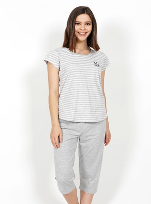 Gray - Pyjama Set