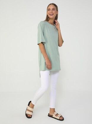 Green Almond - Cotton - T-Shirt - Benin