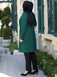 Emerald - Crew neck - Plus Size Evening Tunics