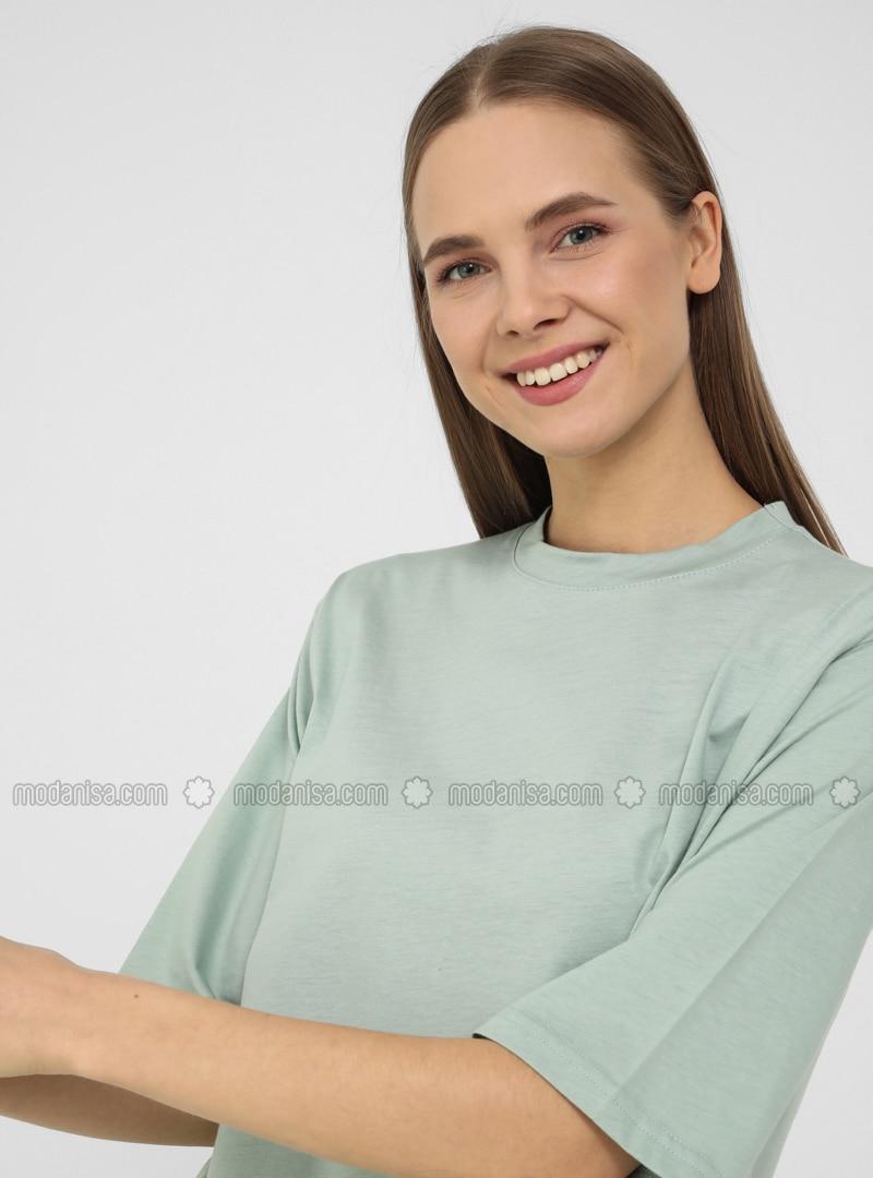 Green Almond - Cotton - T-Shirt