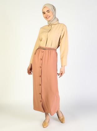 Salmon - Unlined - Skirt