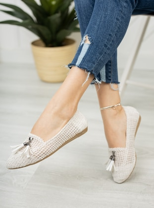 White - Casual Shoes