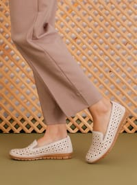 Casual - Beige - Casual Shoes