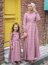 Unlined - Powder - Girls` Dress
