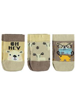 Brown - Socks - Civil