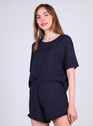 Navy Blue - Short Set